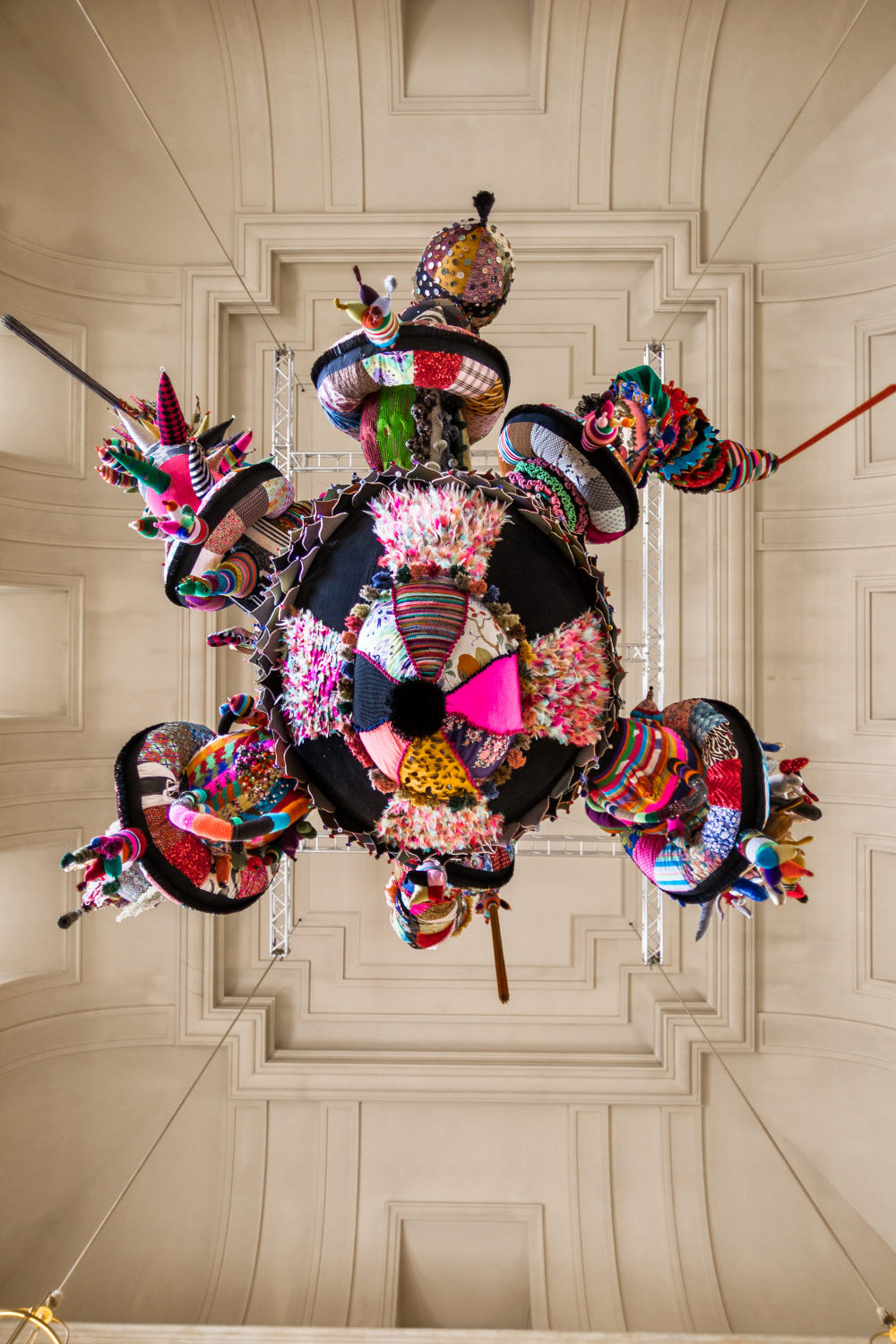 Knitting In Art : Joana vasconcelos